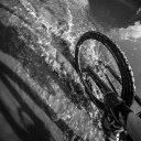 water riding self portrait