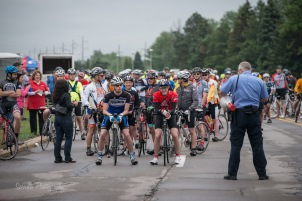 Cyclists for Tour de Cure Rochester