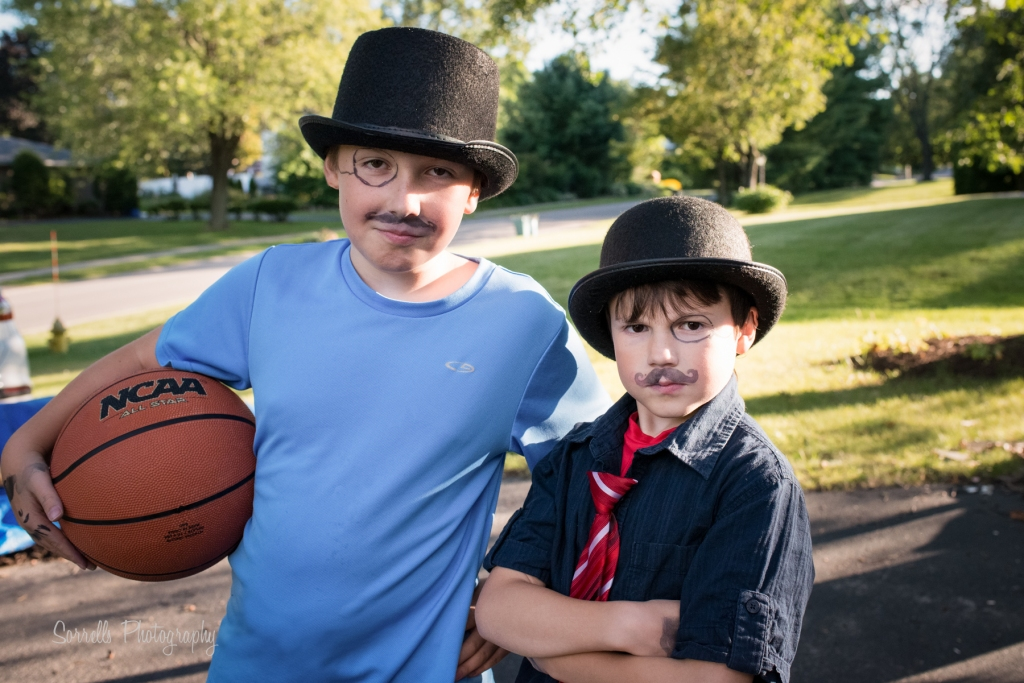 Moustache  and Basketball