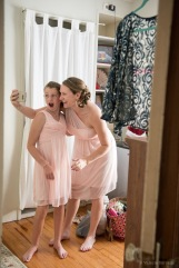 Bridesmaids selfie by Sorrells Photography