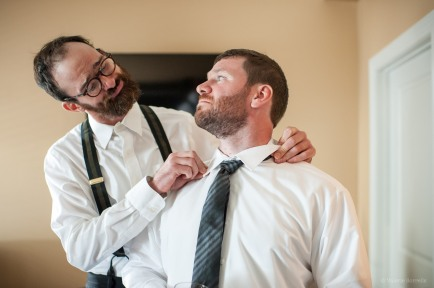 Groom getting ready by Sorrells Photography