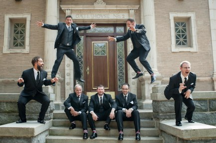 Groomsmen at Highland Park