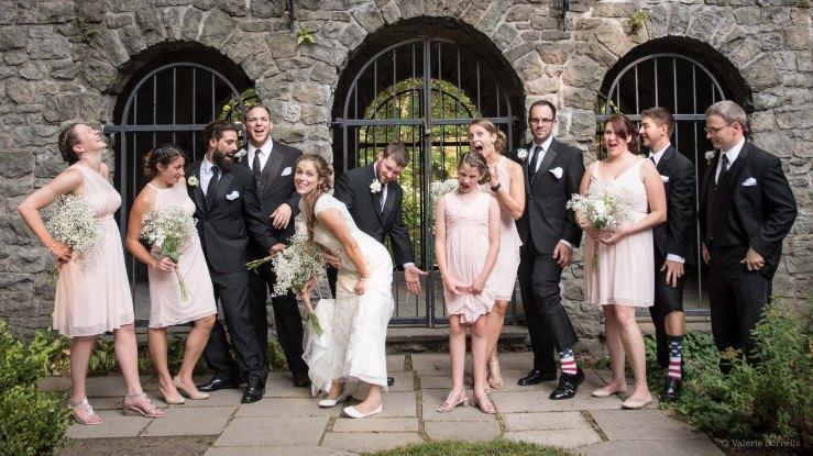 wedding portraits at Sunken Gardens Rochester by Sorrells Photography