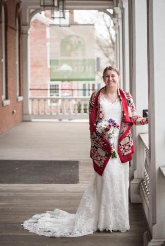 Bride's portrait by Sorrells Photography