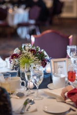 Wedding reception at Capitol Plaza Hotel by Sorrells Photography